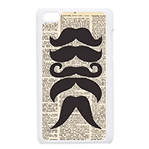 I Love Mustache Dictionary iPod Touch 4 Case White Phone cover J9722556
