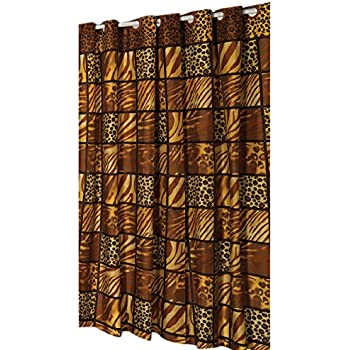 Amazon.com: Wild Encounter Ez On Fabric Stall Shower Curtain with ...