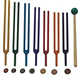 Ira Industry Colour Therapy Chakra Tuning Fork Heavy Set