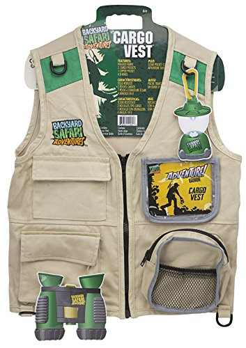 What to buy a 5 year old boy birthday? Backyard Safari Cargo Vest