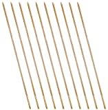 SchwabMarken Juggling rods made of plastic or wood 10 wooden rods for juggling plates from