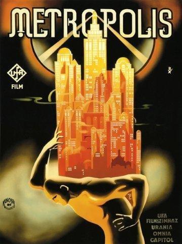 Amazon.com: Metropolis Alemania Alemán science-fiction 16