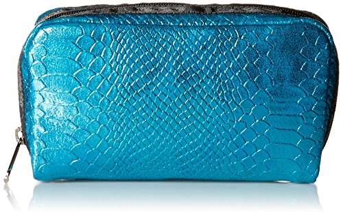 LeSportsac Crazy For Color Rectangular Cosmetic Case, Aqua Snake, One Size