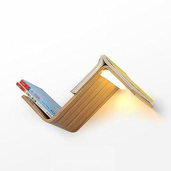 Hervorragend GBYZHMH Bücherregal Leuchte Lesezeichen Lampe Nachttischlampe Wandleuchte  Leselampe Kreative Moderne Schlafzimmer Einfache Wand Lampe 15 W