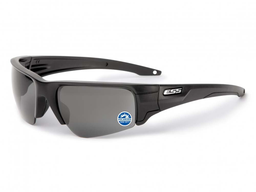 ESS CROWBAR  偏光レンズ ミラーグレー 簡単レンズ交換 日本正規品   B0124S4EB6