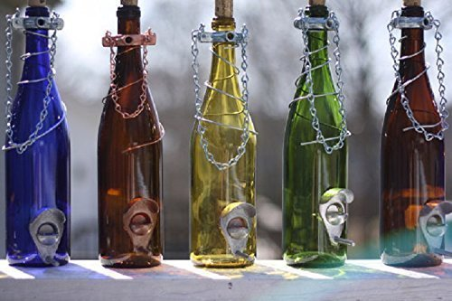 bird feeder wine bottle - 1