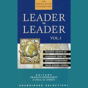 Leader to Leader Audiobook