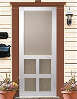Beau Kimberly Bay Victoria 30 In. White Vinyl Screen Door