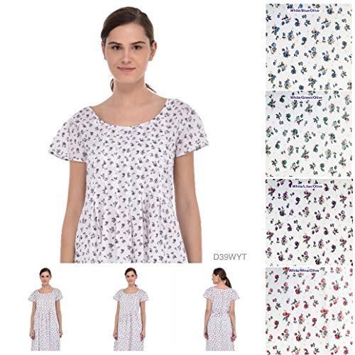 Cotton Klassisch Lane olive Damen White wine Kleid zqRzxf