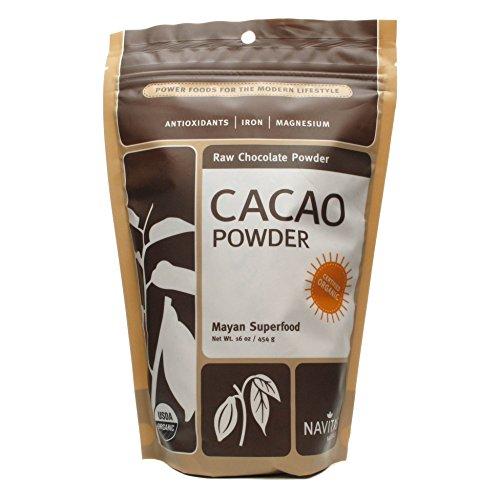 Navitas Naturals Cacao Powder Raw Organic 16oz - 9 Pack by Navitas Naturals
