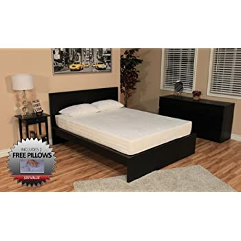 Amazon Com Dreamfoam Bedding 8 Inch Memory Foam Bed Full