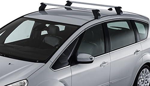 Dachträger Grundträger Alu für Ford S-Max 2015-2021 Grau mit TüV ABE