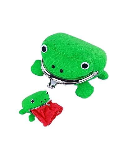 Amazon.com: LMM Anime Ninja Green Frog Coin Bag Wallet Purse ...