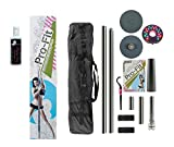 Pro-Fit 50mm Professional Portable Spinning Dance Pole with Mighty Grip Special Formula Powder