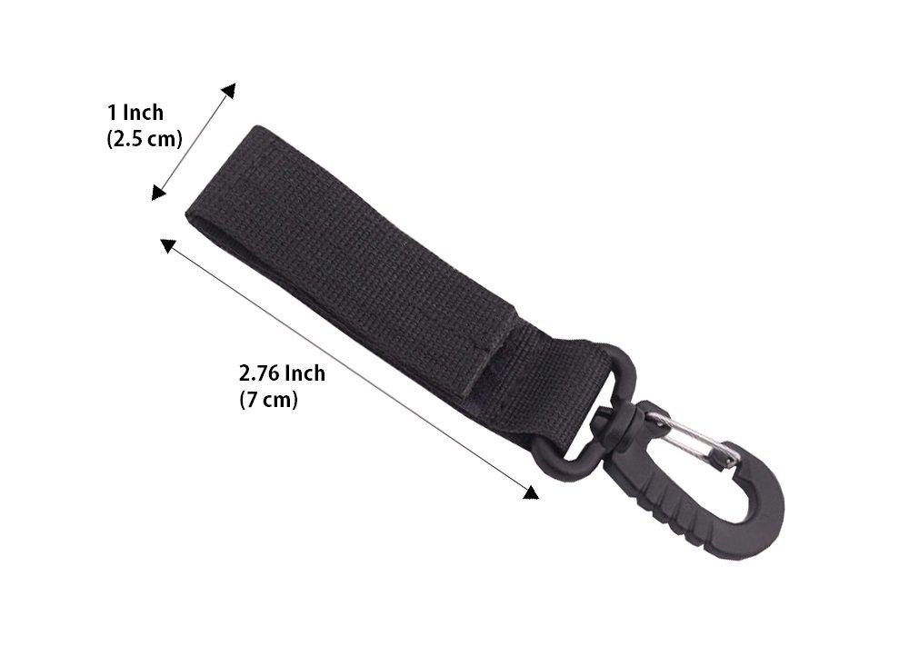 Amazon.com: Clip táctico para cinturón de cambios para bolsa ...
