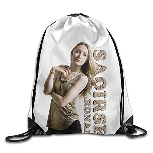 Jagger Costumes Mick (Bekey Saoirse Ronan Gym Drawstring Backpack Bags For Men & Women For Home Travel Storage Use Gym Traveling Shopping Sport Yoga)