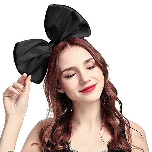 (ZTL Women Huge Bow Headband Hairband Hair Hoop Costume Accessories Party)