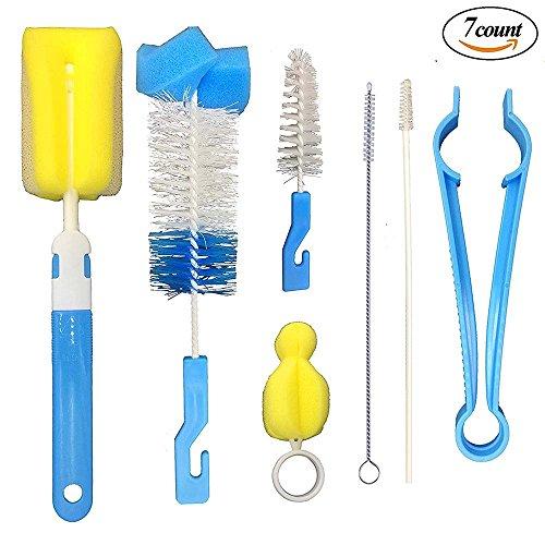 7 in 1 Bottle Brush Cleaner Kit, Cleaning Brush Set, All Kin