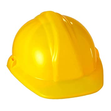 Party Discount Neu Bauarbeiterhelm Fur Kinder Hartplastik Gelb