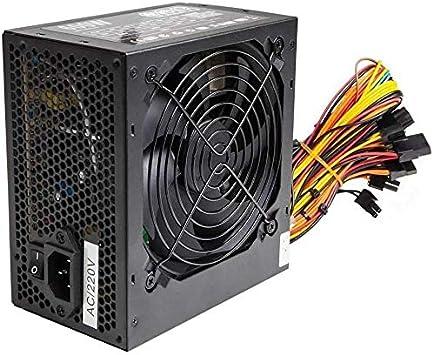 Fuente de alimentación ATX de 600 W para PC, con ventilador ...