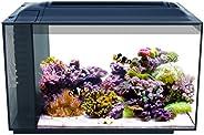 Fluval Sea Evo V Saltwater Fish Tank Aquarium Kit, Black