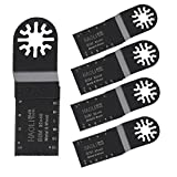 HAOLI Mix oscillating multi tool saw blades For Fein Multimaster,Dremel,Bosch Makita and More--Pack of 5Pcs (HL322C-5)