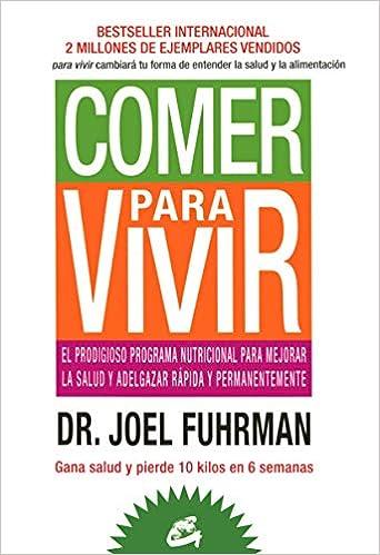 Menú de muestra del Dr. Joel Fuhrman