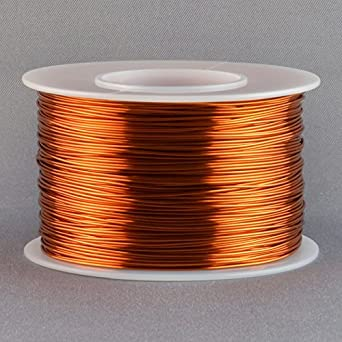 26 gauge magnet wire diameter wire center magnet wire 22 gauge awg enameled copper 250 feet coil winding and rh amazon com wire size chart pdf 18 gauge wire thickness greentooth Choice Image