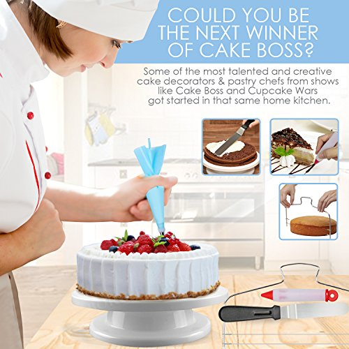 73 Pcs Cake Decorating Supplies Professional Cupcake