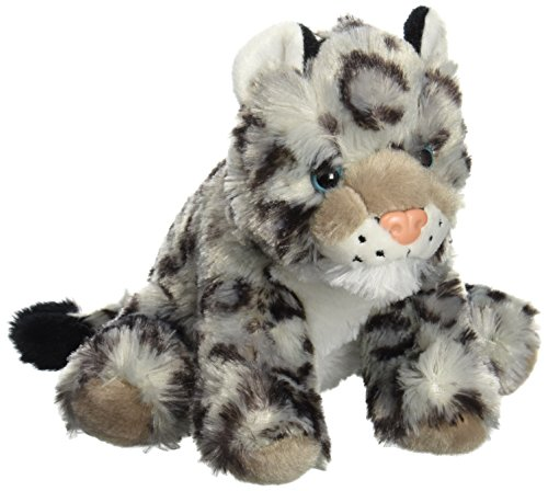 Wild Republic Snow Leopard Baby Plush, Stuffed Animal, Plush Toy, Gifts for Kids, Cuddlekins 8 Inches Plush Snow
