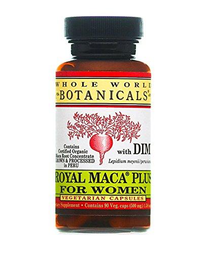 Monde entier Botaniques, la Royal Maca Plus Pour les Femmes, 550 mg, 90 Veggie Caps par le Monde Entier Plantes