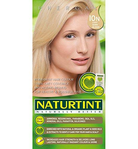 (Naturtint Hair Color Permanent, 10N Light Dawn Blonde, 5.28 Ounce)