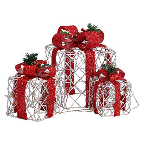 Light Up Christmas Bow Outdoor in US - 8