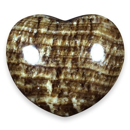 - Aragonite Crystal Heart ~45mm
