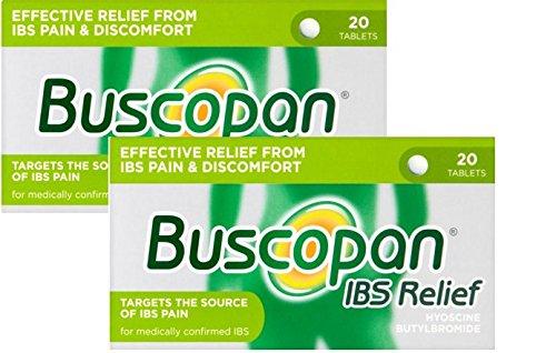 Buscopan IBS Relief Hyoscine Butylbromide 20 Tablets X 2