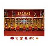 NCAA USC Trojans Locker Room Mural Wall Graphic
