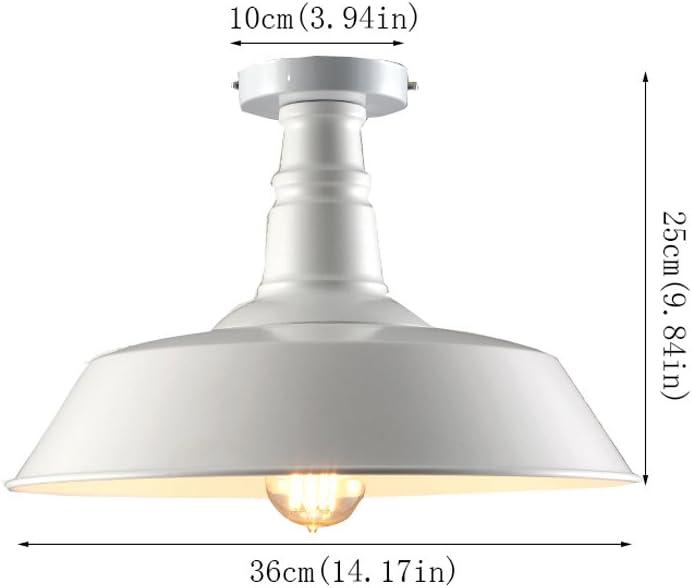 Lámpara de Techo de Hierro Retro Lámpara de Techo Industrial Loft Accesorio de Iluminación de Techo Europeo Para Restaurante Dormitorio Pasillo de Balcón Entrada Almacén Voltaje E27 110 ~ 240 V (Excluyendo