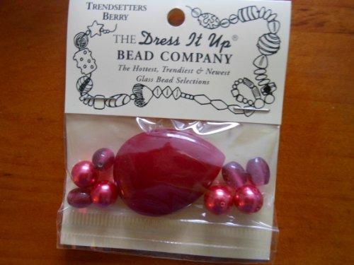 (Dress It Up Beads Trendsetter Berry 3328)
