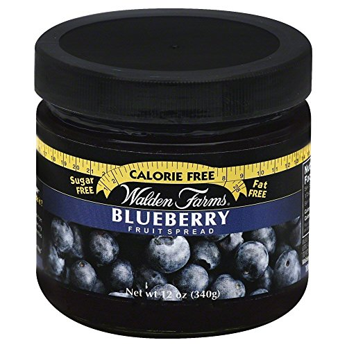 Walden Farms Blueberry Fruit Spread, 12 Ounce - 6 per case ()
