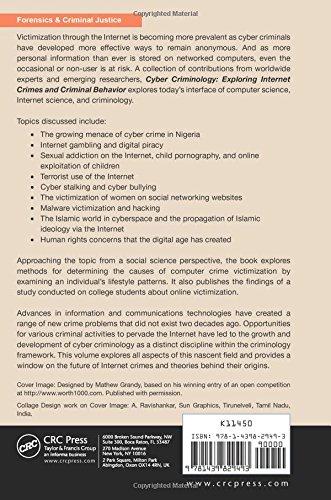 Cyber Criminology: Exploring Internet Crimes and Criminal Behavior