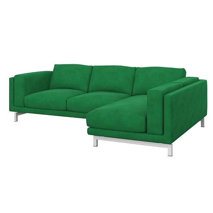IKEA NOCKEBY - Funda para sofá de 2 plazas con Chaise ...