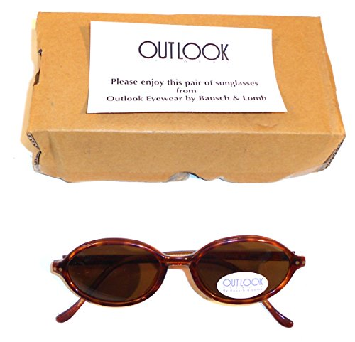 NOS Vintage Bausch & Lomb Outlook Faux Tortoiseshell - And Sunglasses Vintage Bausch Lomb