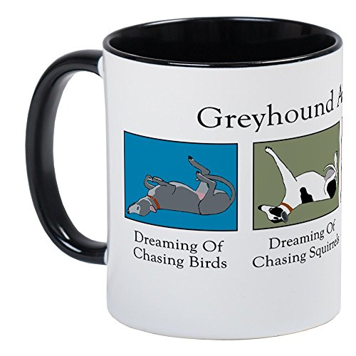 CafePress Greyhound Activity Guide Mug Unique Coffee Mug, Coffee Cup