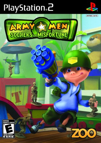 Toy Soldier Stocking - Army Men Soldiers of Misfortune - PlayStation 2