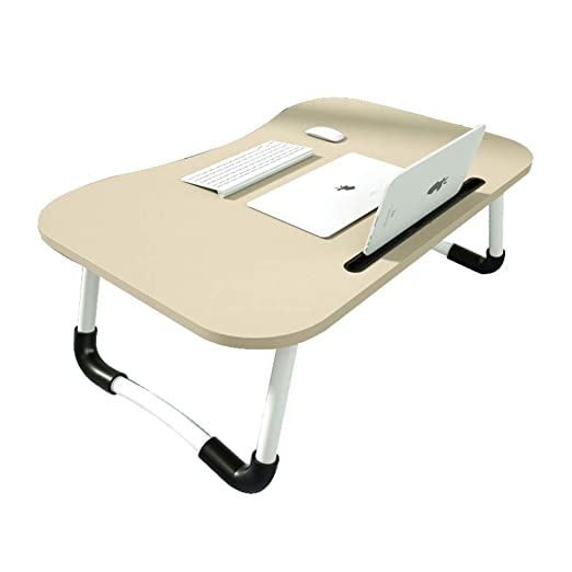 YangD Mesa Ordenador Portátil, Plegable Mesa de Estudio para Sofá ...