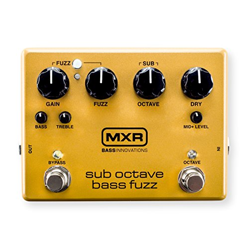 MXR M287 Sub Octave Bass Fuzz Guitar Effects (Octave Bass Effects)