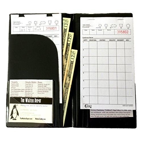 Waiter Book Original XLT - Best Waiter Book/Server Book since - Time Usps Priority Mail Shipping