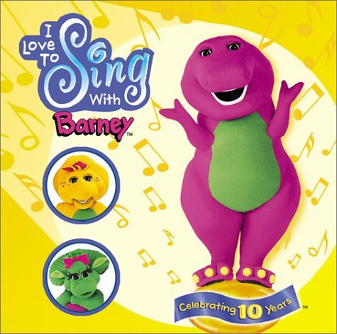 I Love to Sing (Barney Sing A Long Songs Cd)