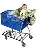 Jolly Jumper - Deluxe Sani-Shopper Shopping Cart Cover With Safety Belt- Fits M...
