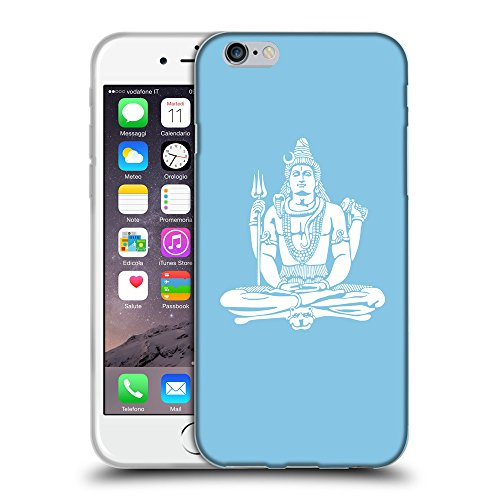 GoGoMobile Coque de Protection TPU Silicone Case pour // Q09530609 Hindou 7 Bébé bleu // Apple iPhone 6 PLUS 5.5""